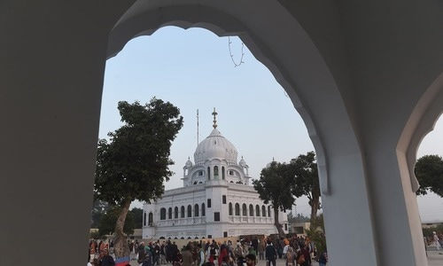 The auditor general, Javed Jahangir, informed the committee that in compliance with the PAC's directive of conducting audit of the Kartarpur corridor project, the auditors have written to the FWO and sought the relevant record. — AFP/File
