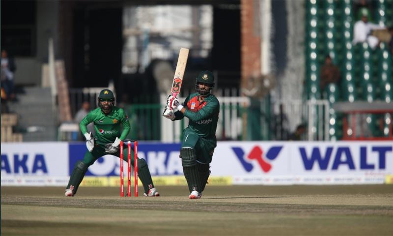 Bangladesh won the toss and chose to bat. — Photo courtesy PCB Twitter