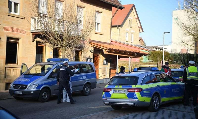 جرمنی: مسلح شخص کی فائرنگ سے 6 افراد ہلاک
