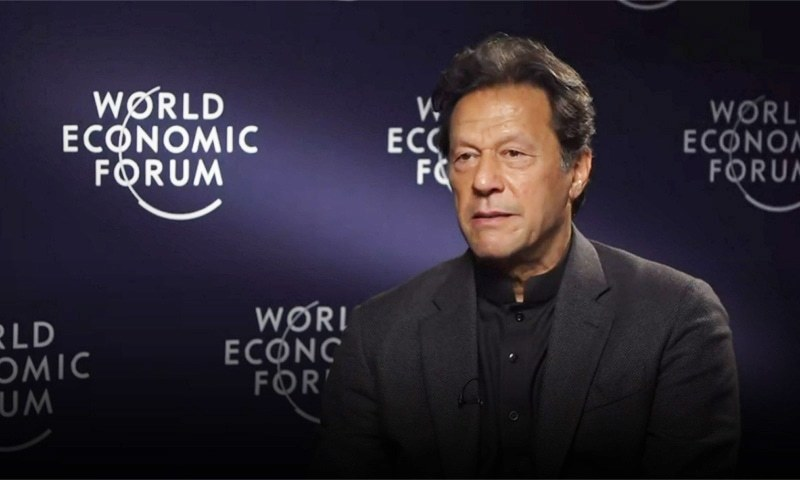 Imran says his visit cost 10 times less than those of past leaders. — File photo courtesy of CNBC