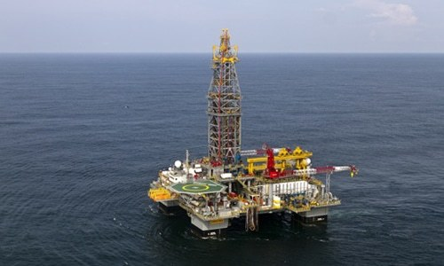 The Petroleum Division has sought security clearance of a dozen offshore blocks. — AFP/File