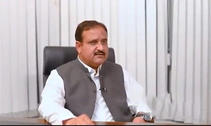 Punjab CM Usman Buzdar says a sum of Rs187 billion had been released under the Annual Development Programme. — Usman Buzdar Twitter/File