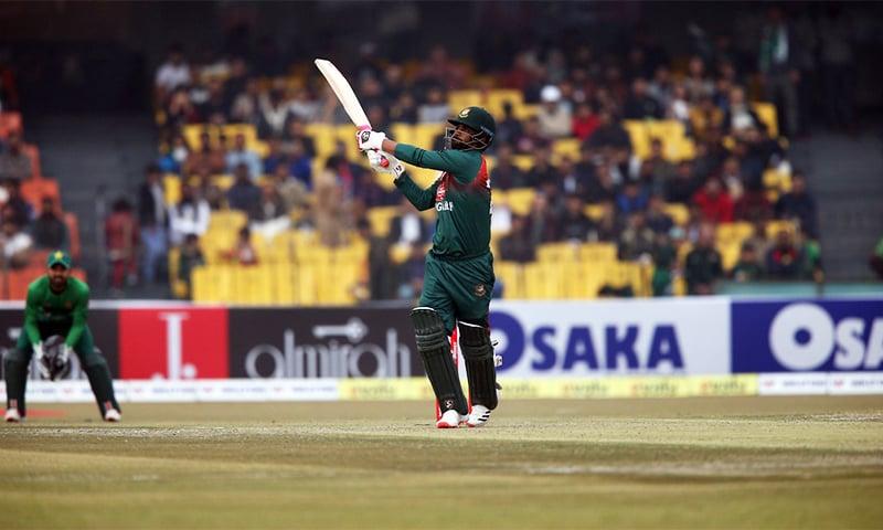 Bangladesh's Tamim struck a half century. — PCB
