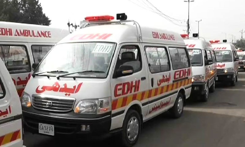 سندھ میں ایدھی فاؤنڈیشن کی دوسری فلاحی تنطیموں کے مقابلے زیادہ ایمبولینسز ہیں—فائل فوٹو: فیس بک