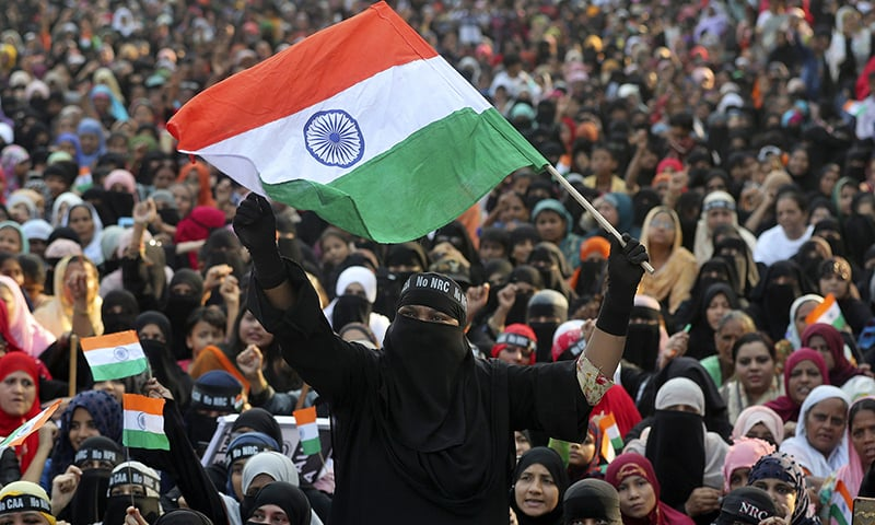 In pictures: Anti-CAA protests gather fresh momentum as India marks Republic Day