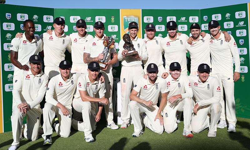 انگلینڈ نے چار ٹیسٹ میچوں کی سیریز میں 1-3 سے فتح حاصل کر لی— فوٹو: اے ایف پی