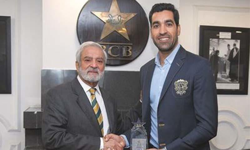 PCB award for Umar Gul