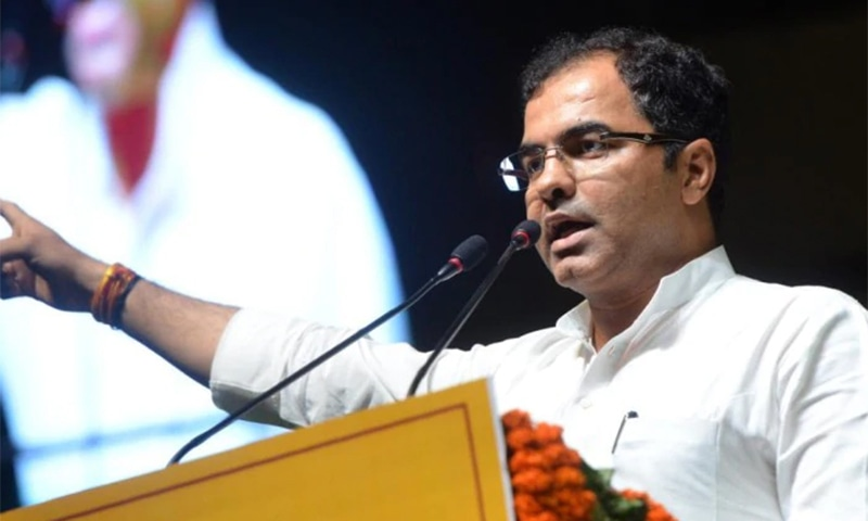 BJP's Parvesh Verma also vowed to remove all mosques built on government land. — Photo courtesy India Today