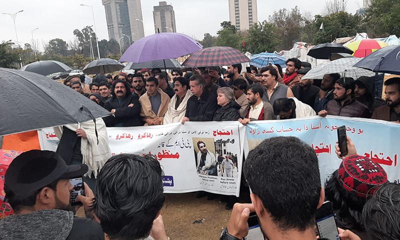 محسن داوڑ نے مذکورہ پیش رفت سے متعلق تصدیق بھی کی —فوٹو: انعام اللہ خٹک