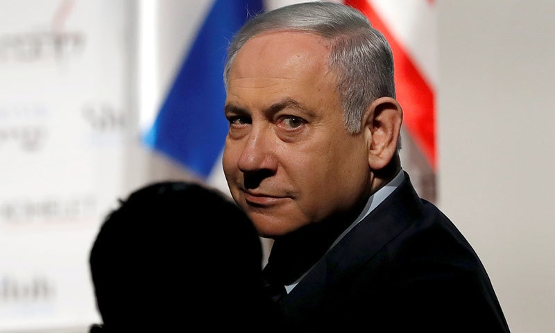 نیتن یاہو پہلے اسرائیلی وزیراعظم ہیں جن پر فرد جرم عائد ہوئی ہے—فائل/فوٹو:رائٹرز