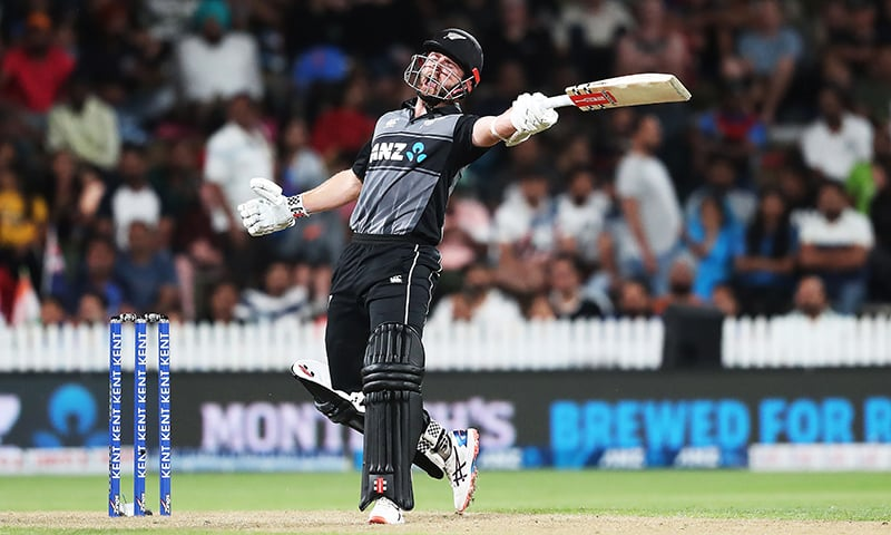 New Zealand's Kane Williamson bats during the third Twenty20 cricket match between New Zealand and India at Seddon Park in Hamilton on January 29, 2020. — AFP