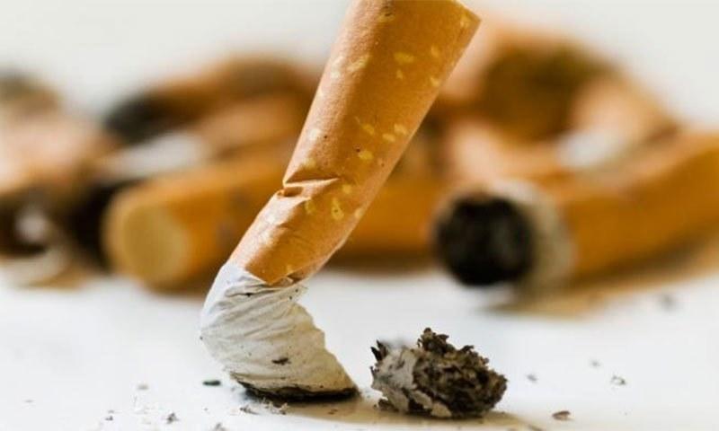 بچ جانے والا سگریٹ بھی آپ کو نکوٹین سے متاثر کرسکتا ہے، تحقیق