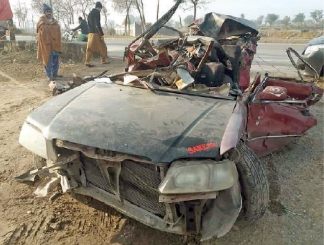 Three brothers among four killed in road accident