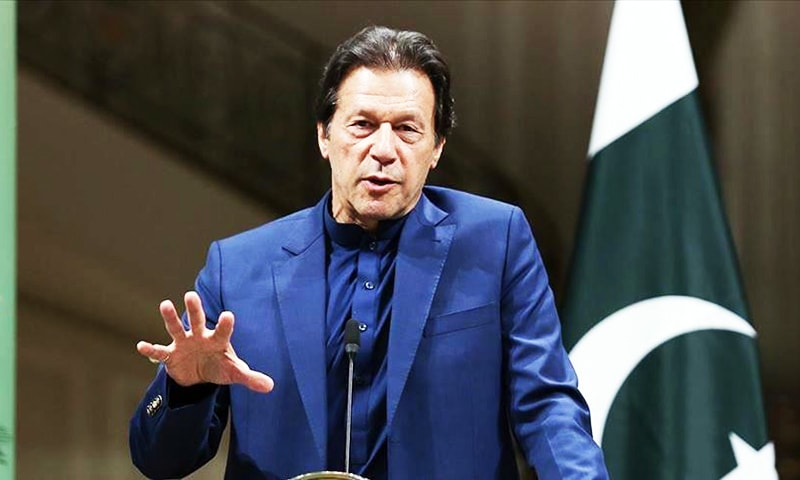 In an exclusive interview with Anadolu Agency, Imran Khan spoke on a range of global and domestic issues. — AA/File