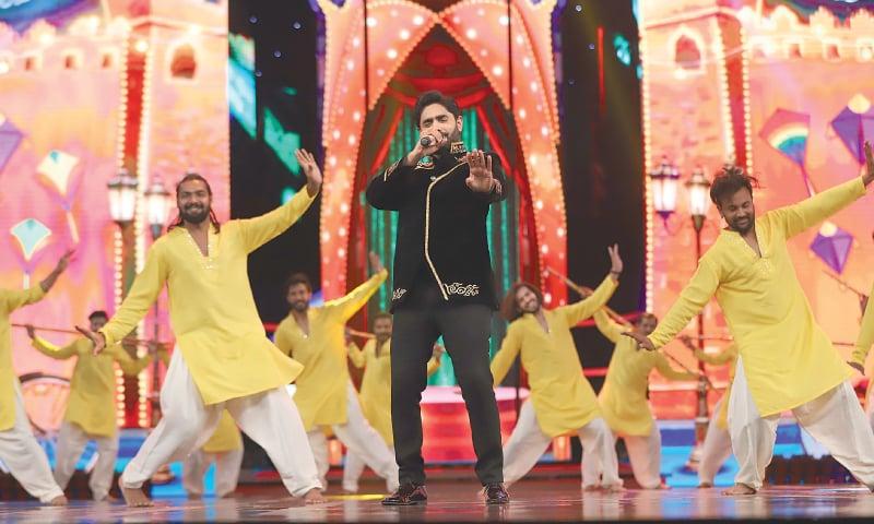 Abrar ul Haq performs at the HSAs