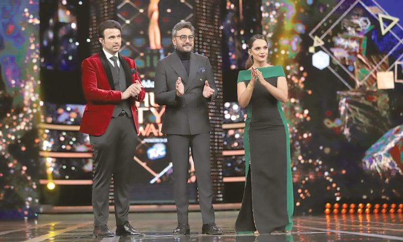 Usman Mukhtar, Adnan Siddiqui and Aamina Sheikh