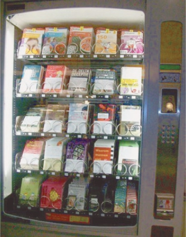 Vending machine library
