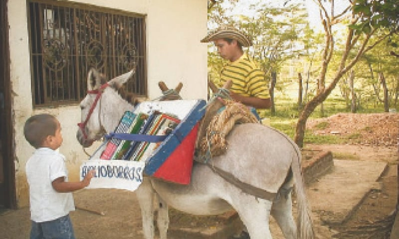 The donkey library