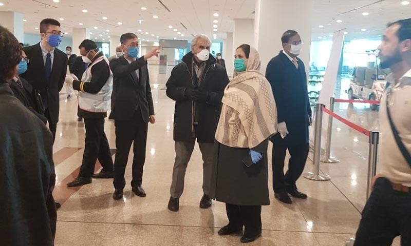 Pakistanis stranded in virus-hit China return as flight operations resume