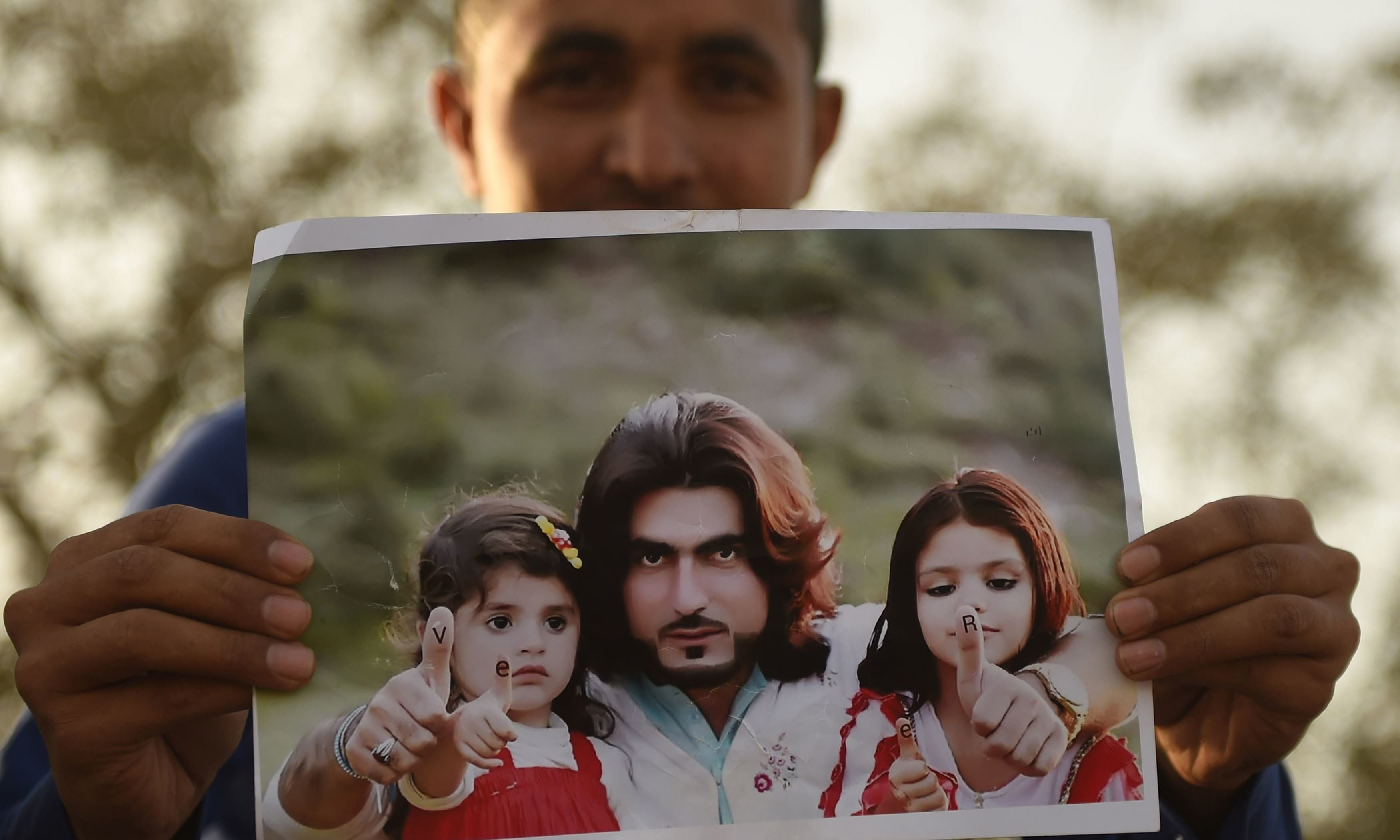 Naqeebullah Mehsud, who hailed from South Waziristan, was among the four suspects killed in an 'encounter' with a police team headed by SSP Anwar in the Usman Khaskheli Goth on the outskirts of Karachi in 2018. — AFP/File