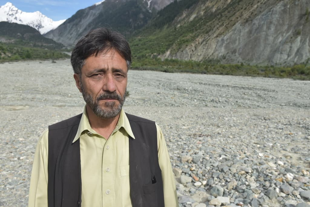 Syed Zahid Hussain Shah was the field manager of the Glacial Lake Outburst Flood-I project (2011-2016) jointly managed by the government and UNDP Pakistan.