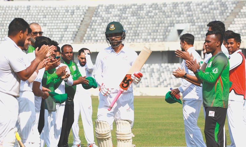 Tamim becomes second Bangladeshi triple centurion in first class cricket