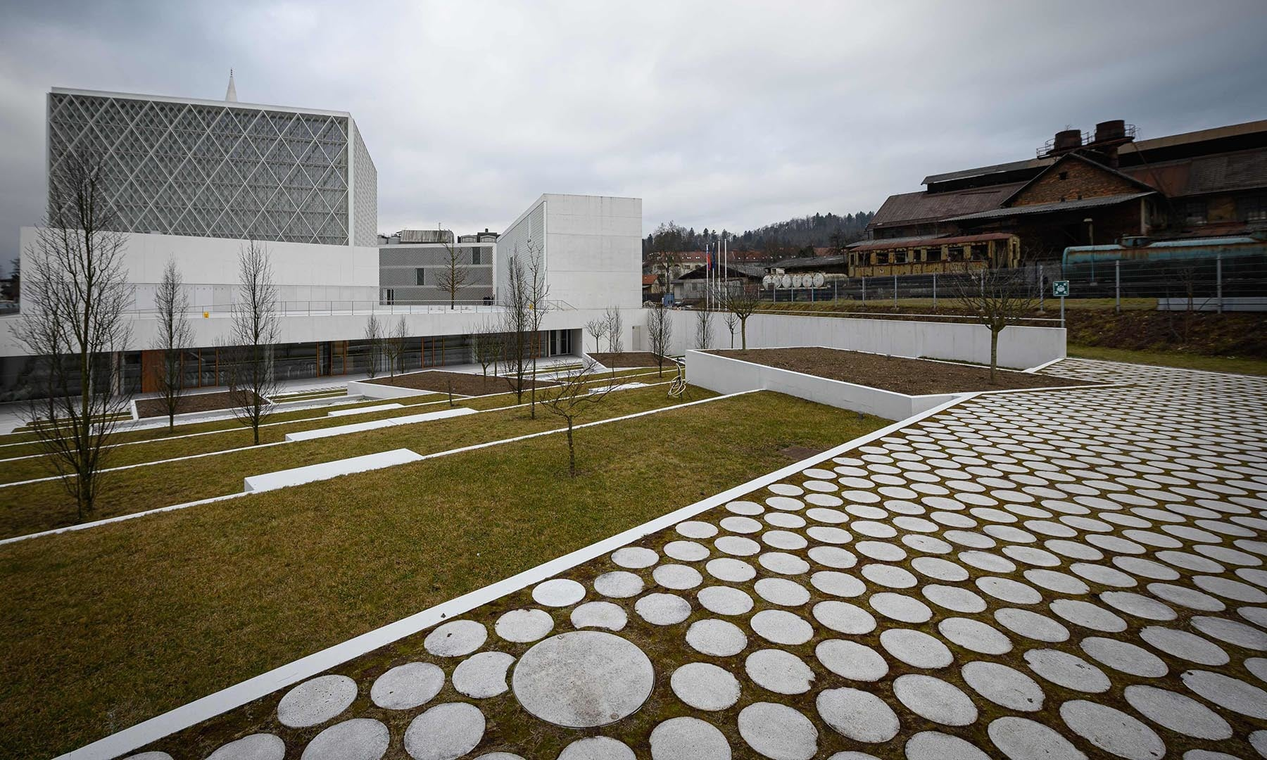 The mosque was designed by the Bevk Perovic Arhitekti architecture firm, in Ljubljana. — AFP