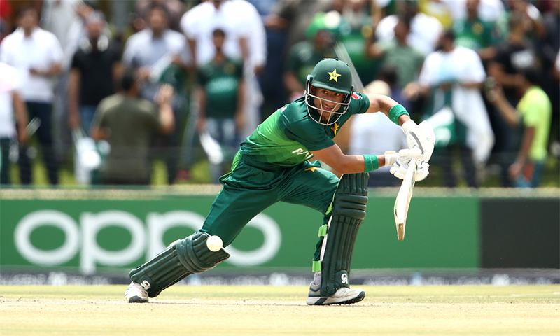 پاکستان کے کپتان روہیل نذیر نے 62رنز کی اننگز کھیلی— فوٹو بشکریہ پی سی بی