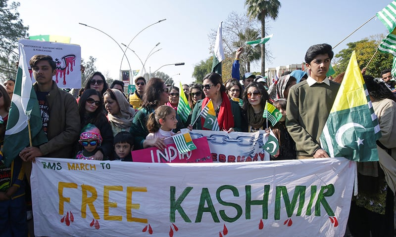 In pictures: Marches, rallies across the country as Pakistan observes Kashmir Solidarity Day