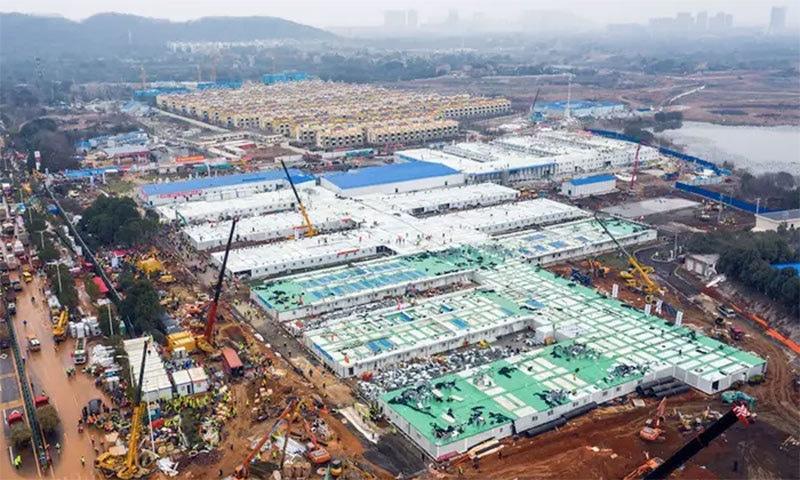 چین نے صرف 10 دن میں ایک ہزار بستروں کا ہسپتال کیسے تعمیر کیا؟
