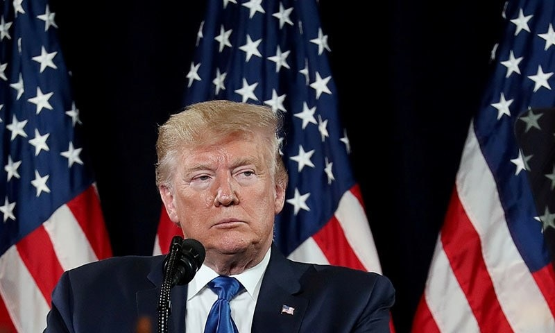 US forces will not do law enforcement in Afghanistan, says Trump
