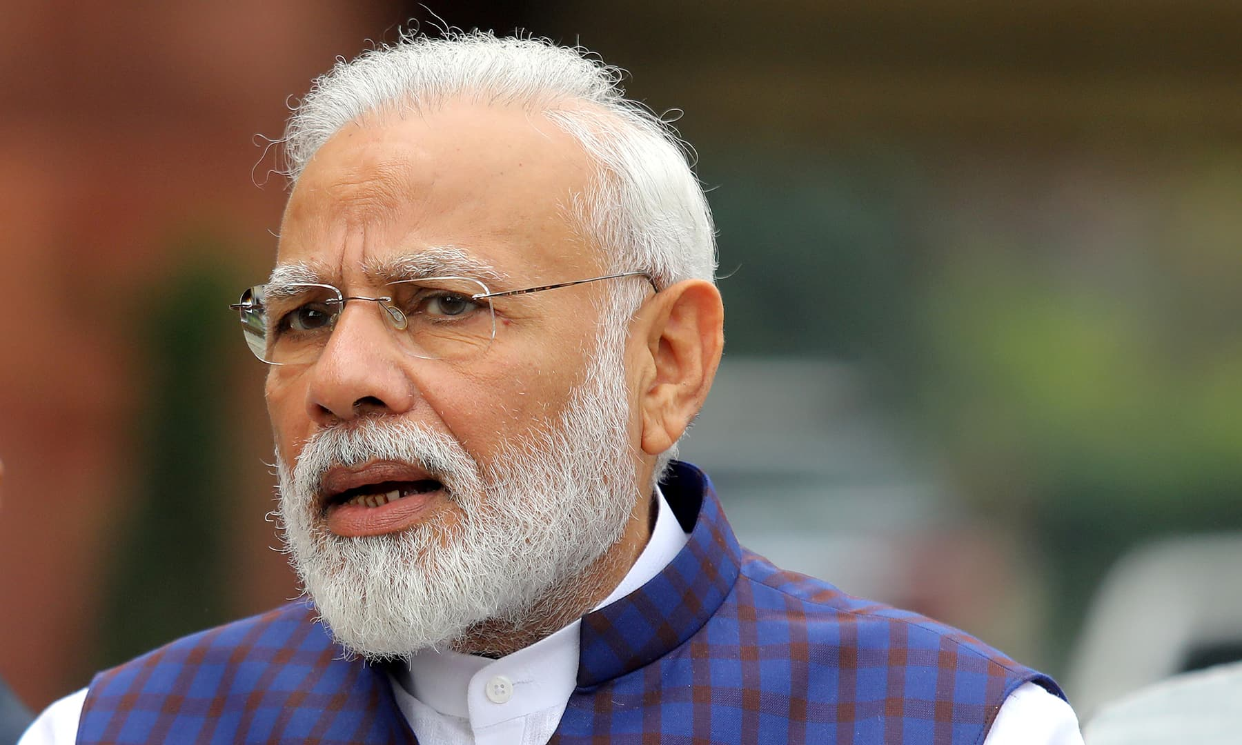 Analysts say the Bharatiya Janata Party has intensified a policy of campaigning on Indian Prime Minister Narendra Modi's personal appeal, rather than on development issues. — Reuters