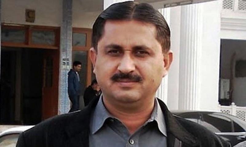 Awami Raj Party chairman Jamshed Dasti. — DawnNewsTV/File