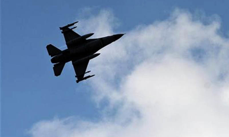 A statement issued by the Pakistan Air Force (PAF) spokesperson said that the pilot had safely ejected and no loss of life or property had been reported on the ground. — AP/File