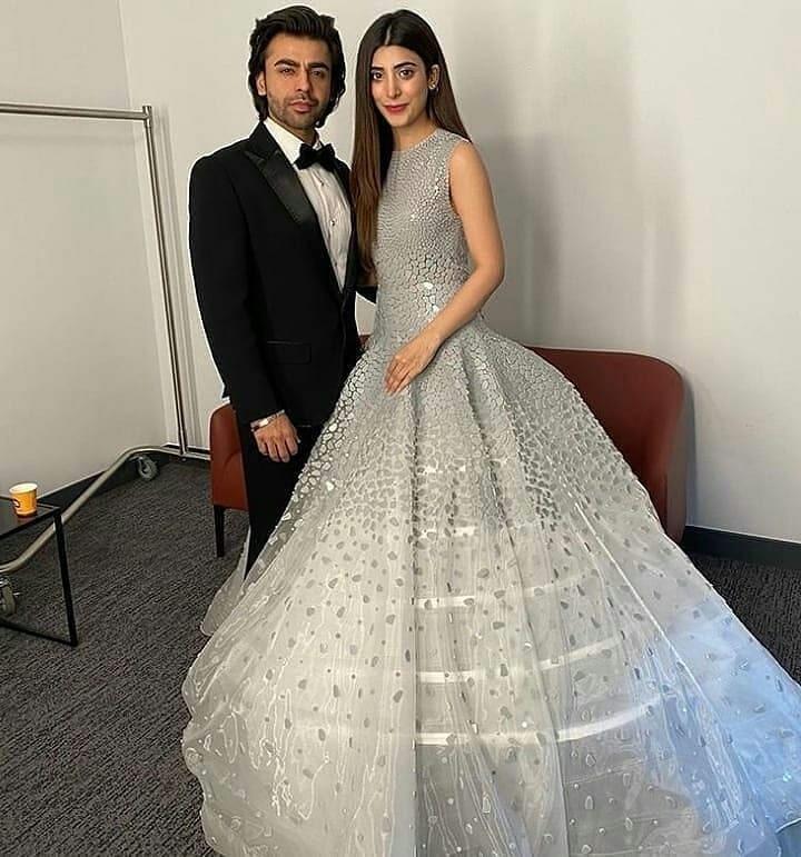 اداکار فرحان سعید اور اداکارہ عروہ حسین بھی نہایت شاندار انداز میں اس تقریب کا حصہ بنے — فوٹو: انسٹاگرام