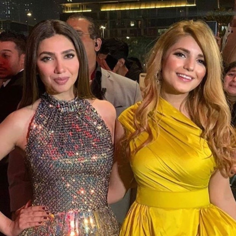 Spotted: Mahira Khan and Momina Mustehsan on the PISA red carpet