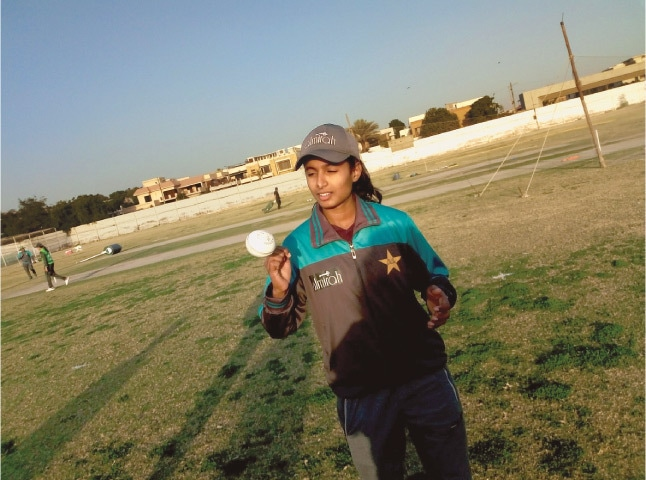 Syeda Aroob Shah: looking forward to a good T20 World Cup