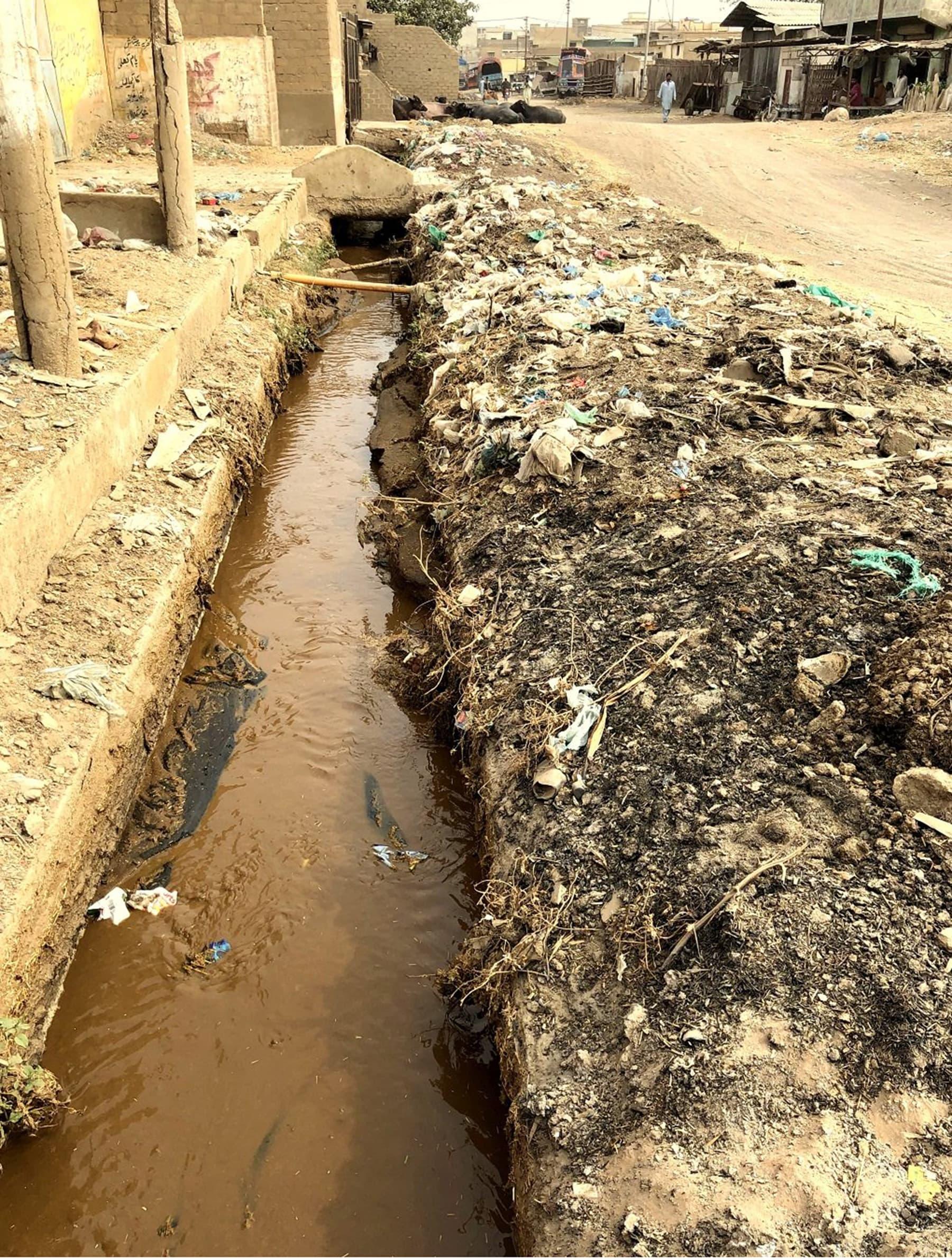 یہ پروجیکٹ کالونی کے رہائشیوں کو درپیش مسائل خصوصاً کھلے نالوں کی گندگی کی صفائی میں مددگار ثابت ہوسکتا ہے—تصویربشکریہ ذوفین ابراہیم