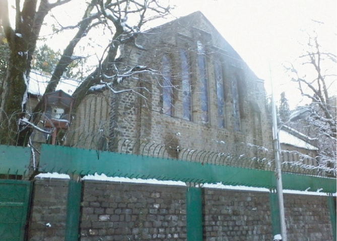 Murree Christian School on Bhurban Road, Gharrial.