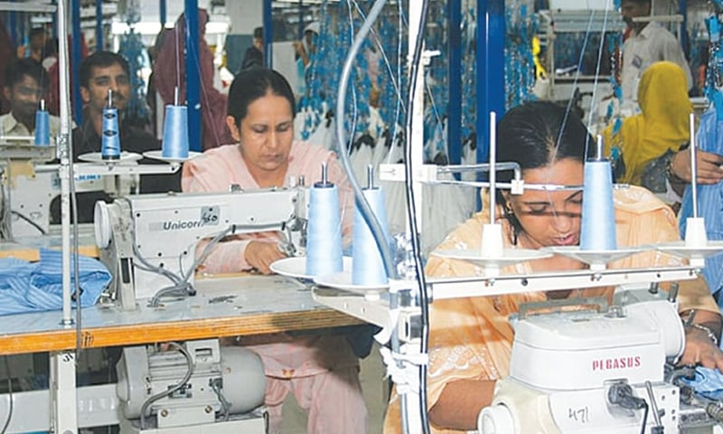 The participant rate of women in labour market is less than 15 per cent compared to 46pc for men, according to the latest Labour Force Survey.