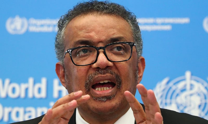 Director-General of the WHO Tedros Adhanom Ghebreyesus speaks during a news conference on the coronavirus in Geneva, Switzerland, February 11. — Reuters