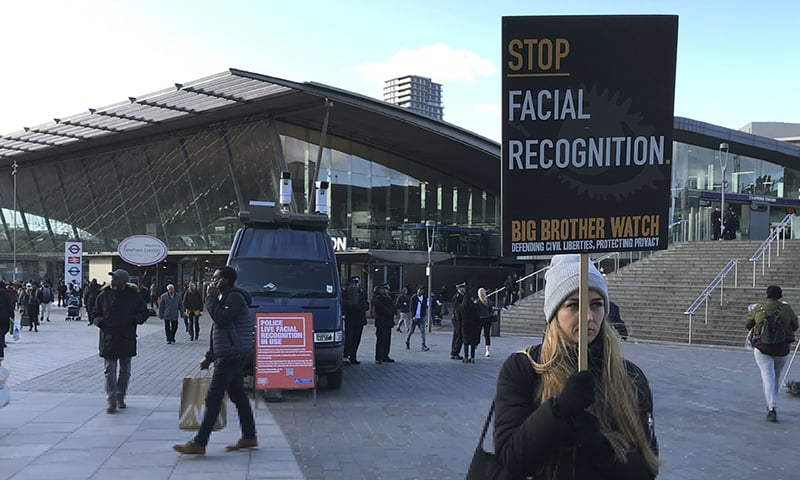 London police deploy facial recognition tech, stirring privacy fears