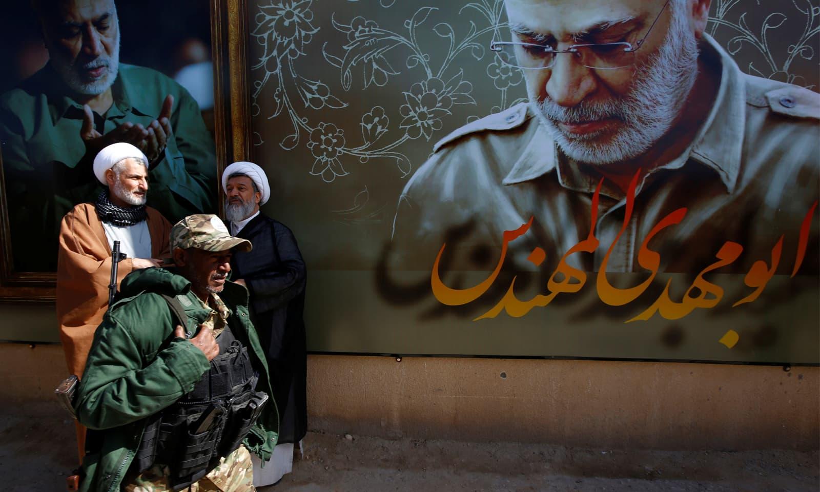 اسلامی انقلاب کی قیادت ایرانی رہنما آیت اللہ خمینی نے کی تھی—فوٹو: رائٹرز
