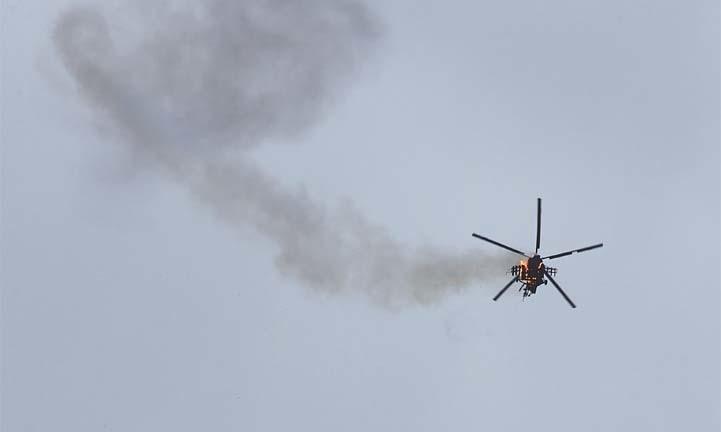 Tensions mount as Syria loses copter, Ankara hurls threat at Damascus