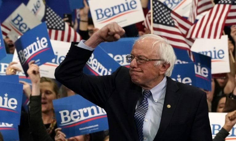Bernie Sanders wins in New Hampshire as Joe Biden crashes and burns
