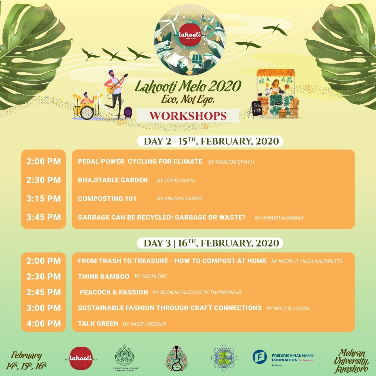 foto de Here is the complete schedule for Lahooti Melo 2020 Art & Culture Images