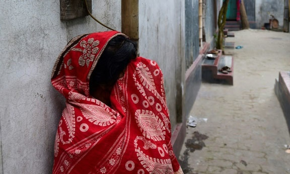 Hamida Begum became the first sex worker from Bangladesh bordello Daulatdia to receive a formal funeral. — AFP/File