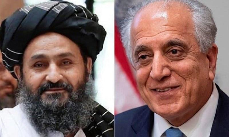 امریکی نمائندے اور طالبان رہنما کے درمیان مذاکرات قطر میں جاری ہیں—فائل/فوٹو:خامہ پرس