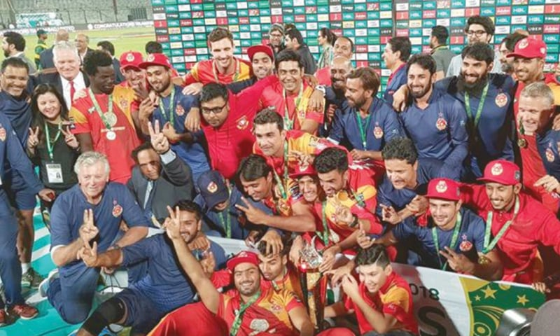 Islamabad United again win the PSL title in 2018
