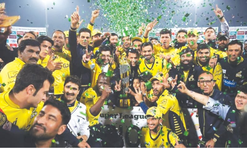 Peshawar Zalmi won the second PSL title in 2017